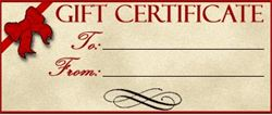 gift certificate bed and breakfast B&B BedBreakfast kansas cowley strother usd465 usd470 rubbermaid courier winfield iron gate inn highway 77 160 lodging hotel motel hotels motels accommodations
